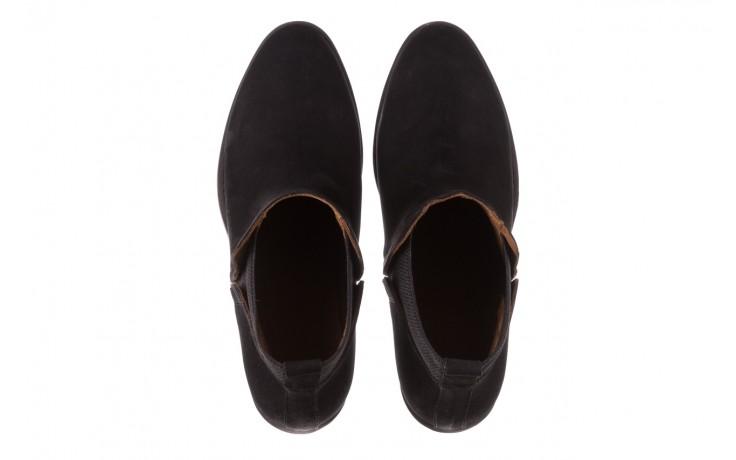 Botki bayla-161 061-2004 black, czarny, skóra naturalna  - skórzane - botki - buty damskie - kobieta 5