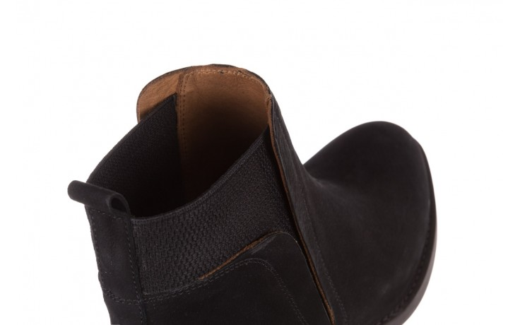 Botki bayla-161 061-2004 black, czarny, skóra naturalna  - skórzane - botki - buty damskie - kobieta 6