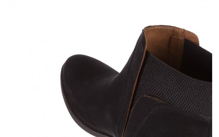 Botki bayla-161 061-2004 black, czarny, skóra naturalna  - skórzane - botki - buty damskie - kobieta 7