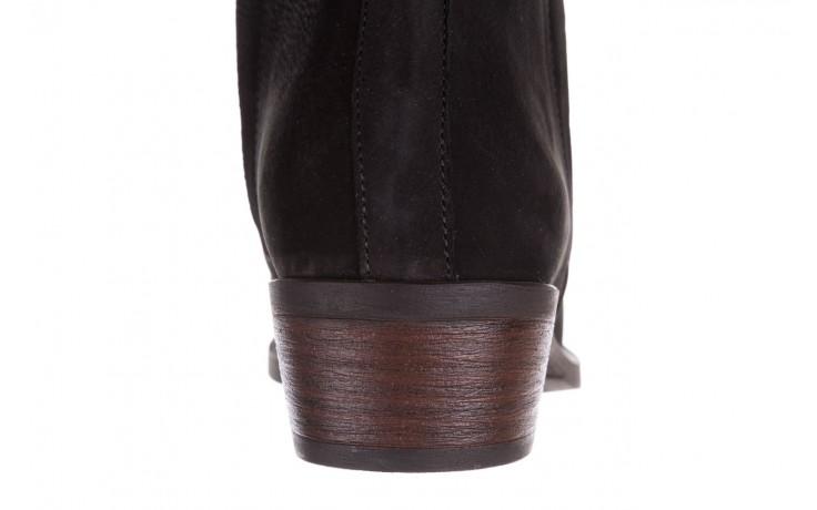 Botki bayla-161 061-2004 black, czarny, skóra naturalna  - skórzane - botki - buty damskie - kobieta 8