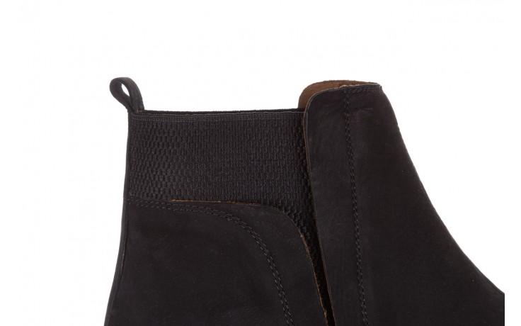 Botki bayla-161 061-2004 black, czarny, skóra naturalna  - skórzane - botki - buty damskie - kobieta 9