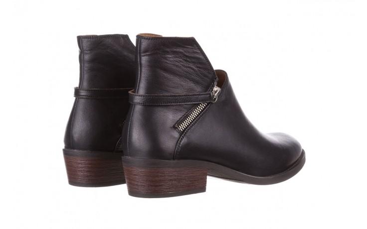 Botki bayla-161 061-2005 black, czarny, skóra naturalna  - skórzane - botki - buty damskie - kobieta 4