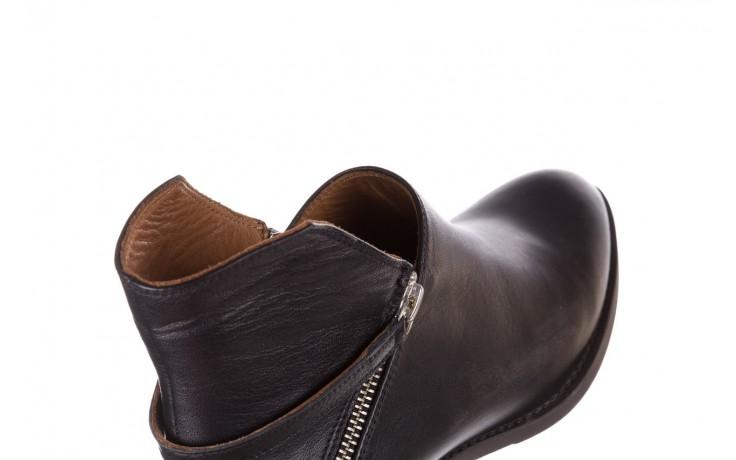 Botki bayla-161 061-2005 black, czarny, skóra naturalna  - skórzane - botki - buty damskie - kobieta 6