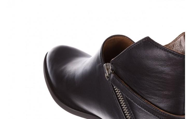Botki bayla-161 061-2005 black, czarny, skóra naturalna  - skórzane - botki - buty damskie - kobieta 7