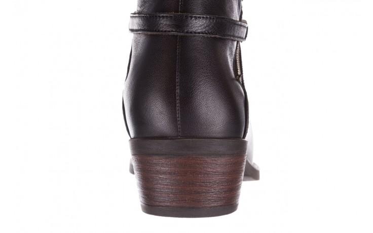 Botki bayla-161 061-2005 black, czarny, skóra naturalna  - skórzane - botki - buty damskie - kobieta 8