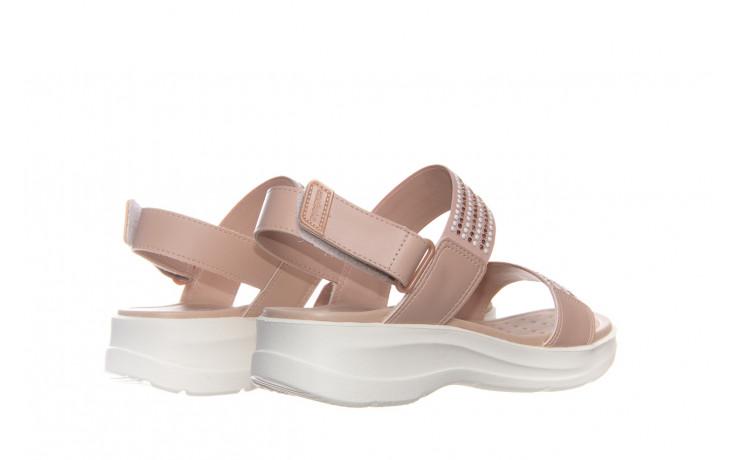Sandały azaleia 330 561 tan, beż, skóra ekologiczna  - płaskie - sandały - buty damskie - kobieta 2