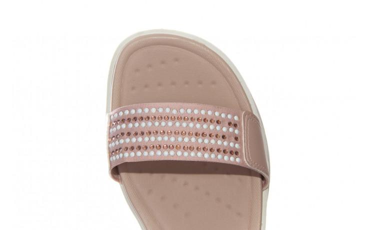 Sandały azaleia 330 561 tan, beż, skóra ekologiczna  - płaskie - sandały - buty damskie - kobieta 6