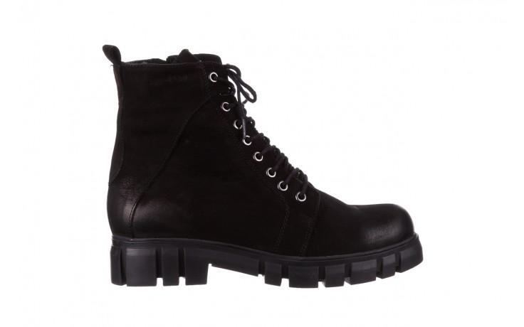 Trzewiki bayla-161 068-8675 black, czarny, skóra naturalna  - trzewiki - buty damskie - kobieta