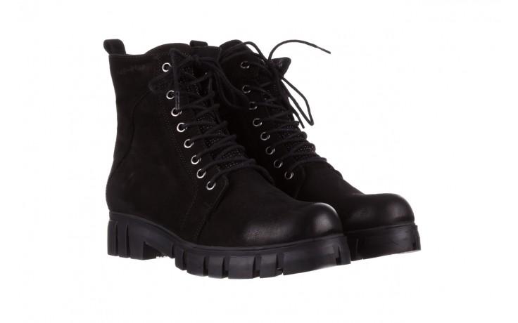 Trzewiki bayla-161 068-8675 black, czarny, skóra naturalna  - trzewiki - buty damskie - kobieta 1