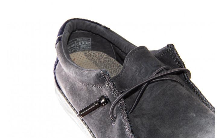 Półbuty heydude wally suede grey 003189, szary, skóra naturalna  - trendy - mężczyzna 5