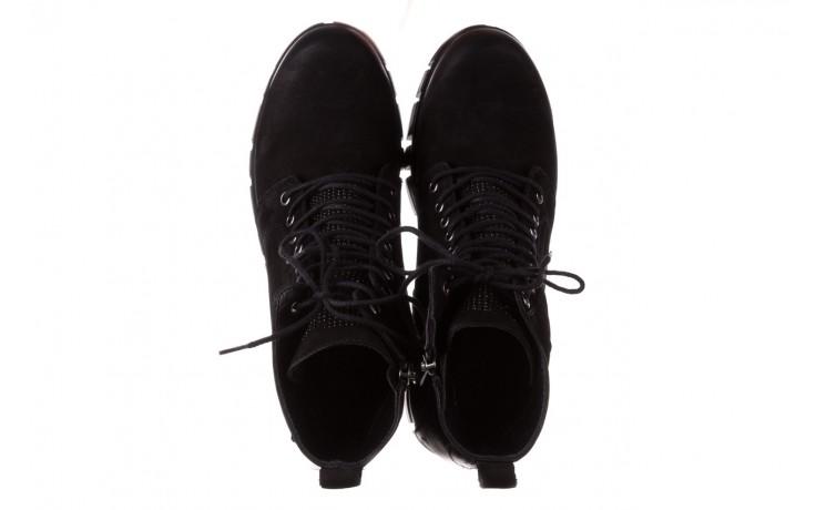Trzewiki bayla-161 068-8675 black, czarny, skóra naturalna  - trzewiki - buty damskie - kobieta 5
