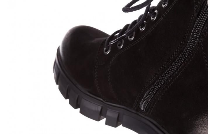 Trzewiki bayla-161 068-8675 black, czarny, skóra naturalna  - trzewiki - buty damskie - kobieta 7