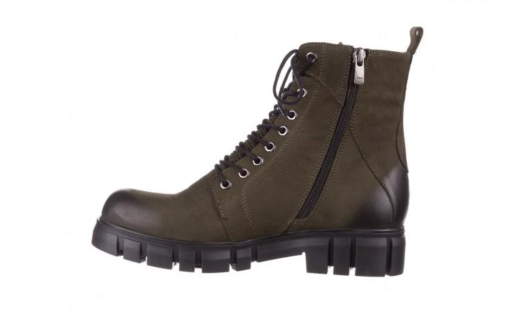 Trzewiki bayla-161 068-8675 khaki, zielony, skóra naturalna  - trzewiki - buty damskie - kobieta 3