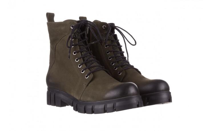 Trzewiki bayla-161 068-8675 khaki, zielony, skóra naturalna  - trzewiki - buty damskie - kobieta 1