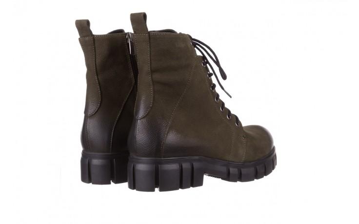 Trzewiki bayla-161 068-8675 khaki, zielony, skóra naturalna  - trzewiki - buty damskie - kobieta 4