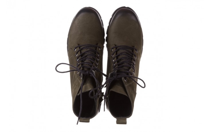 Trzewiki bayla-161 068-8675 khaki, zielony, skóra naturalna  - trzewiki - buty damskie - kobieta 5