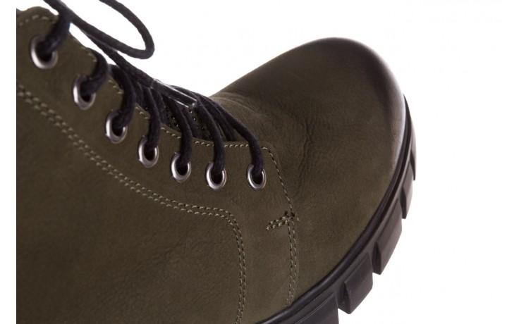 Trzewiki bayla-161 068-8675 khaki, zielony, skóra naturalna  - trzewiki - buty damskie - kobieta 8