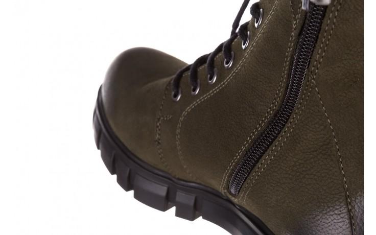 Trzewiki bayla-161 068-8675 khaki, zielony, skóra naturalna  - trzewiki - buty damskie - kobieta 9