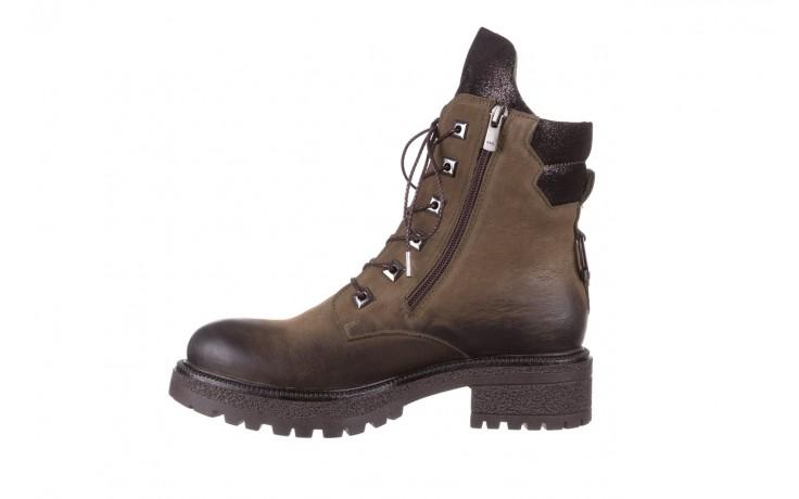 Trzewiki bayla-161 050-0507 khaki, zielony, skóra naturalna  - trzewiki - buty damskie - kobieta 2