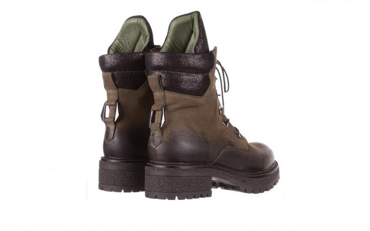 Trzewiki bayla-161 050-0507 khaki, zielony, skóra naturalna  - trzewiki - buty damskie - kobieta 3