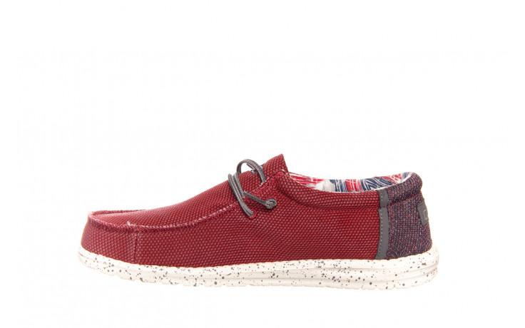 Półbuty heydude wally kite red 003185, czerwony, materiał - heydude - nasze marki 2