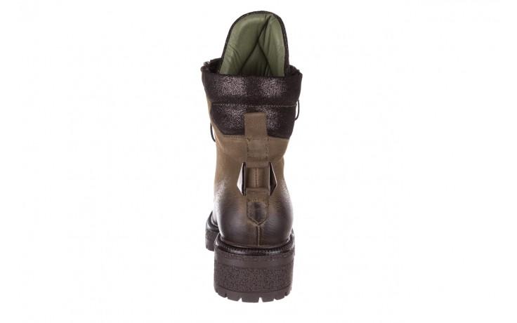 Trzewiki bayla-161 050-0507 khaki, zielony, skóra naturalna  - trzewiki - buty damskie - kobieta 9