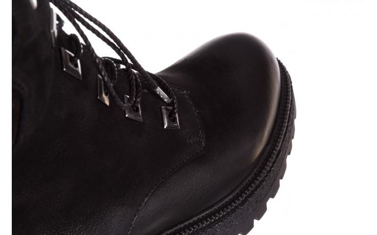 Trzewiki bayla-161 050-0507 black, czarny, skóra naturalna 7