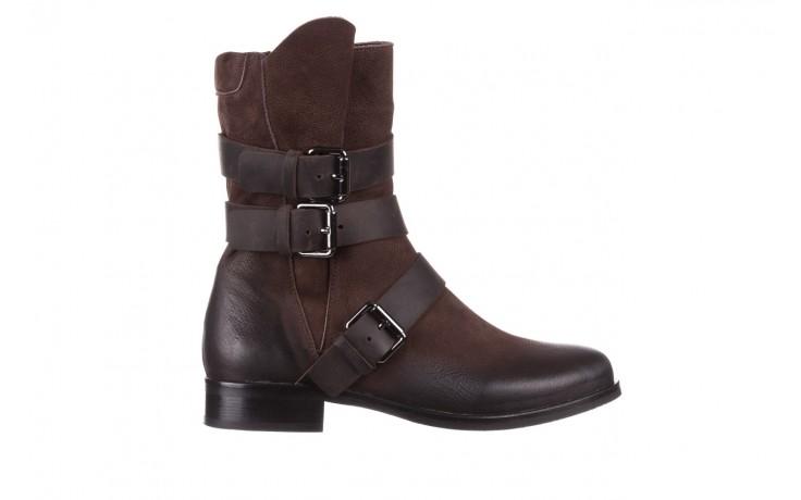 Botki bayla-161 050-09435 brown, brąz, skóra naturalna  - skórzane - botki - buty damskie - kobieta