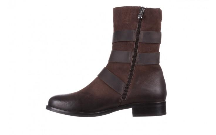 Botki bayla-161 050-09435 brown, brąz, skóra naturalna  - skórzane - botki - buty damskie - kobieta 3