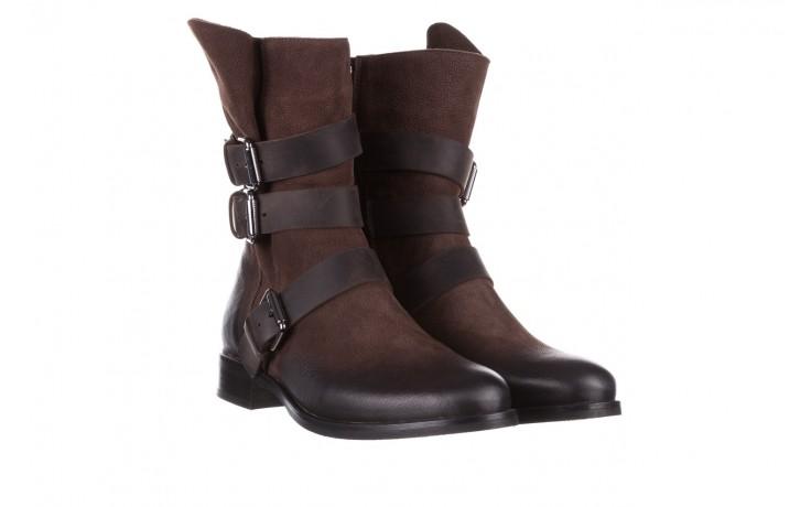 Botki bayla-161 050-09435 brown, brąz, skóra naturalna  - skórzane - botki - buty damskie - kobieta 1