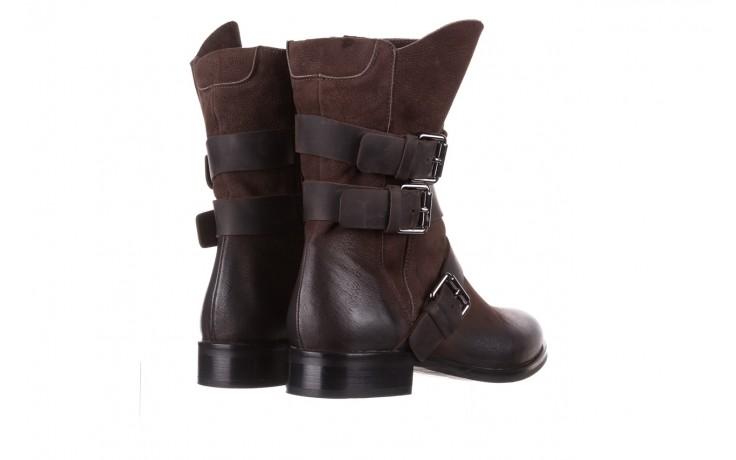 Botki bayla-161 050-09435 brown, brąz, skóra naturalna  - skórzane - botki - buty damskie - kobieta 4