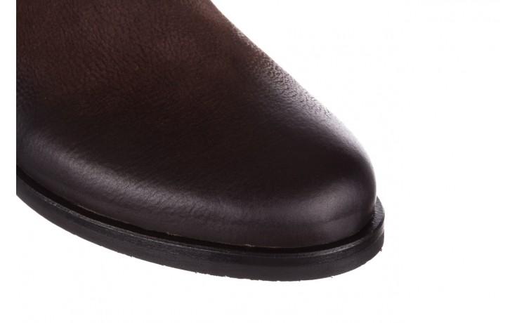Botki bayla-161 050-09435 brown, brąz, skóra naturalna  - skórzane - botki - buty damskie - kobieta 6