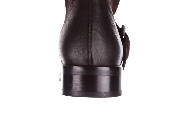 Botki bayla-161 050-09435 brown, brąz, skóra naturalna  - skórzane - botki - buty damskie - kobieta 10