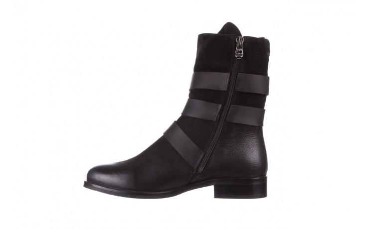 Botki bayla-161 050-09435 black, czarny, skóra naturalna  - skórzane - botki - buty damskie - kobieta 3