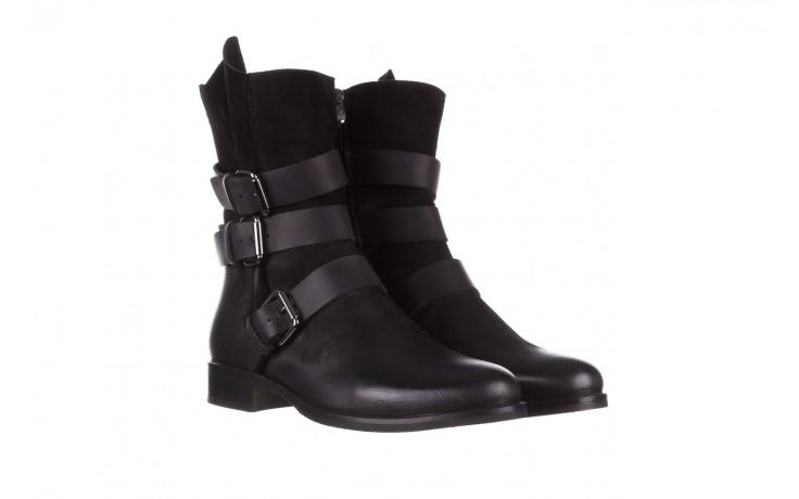 Botki bayla-161 050-09435 black, czarny, skóra naturalna  - skórzane - botki - buty damskie - kobieta 1