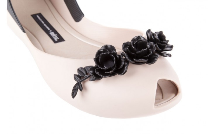 Ah+melissa flower queen  ad beige/black - melissa - nasze marki 5