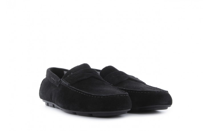 Mokasyny armani jeans 06588 55 black, czarny, skóra naturalna - armani jeans - nasze marki 1