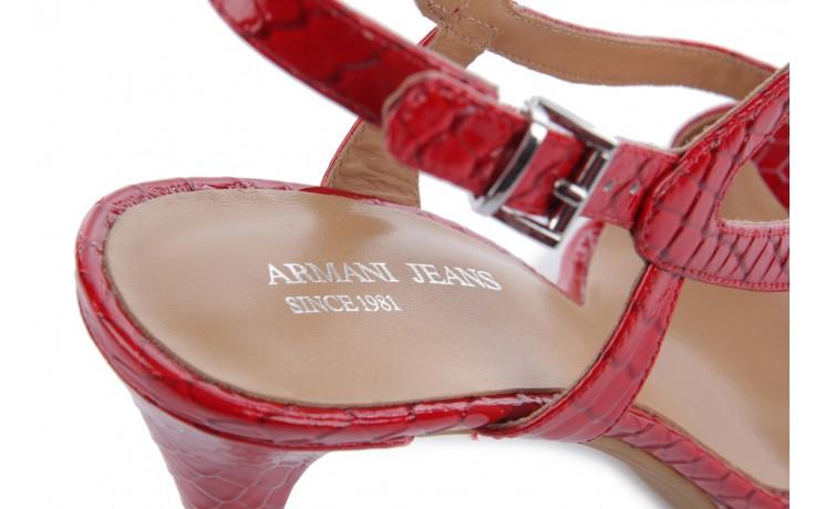 Armani jeans a55e1 38 red  - armani jeans - nasze marki 6