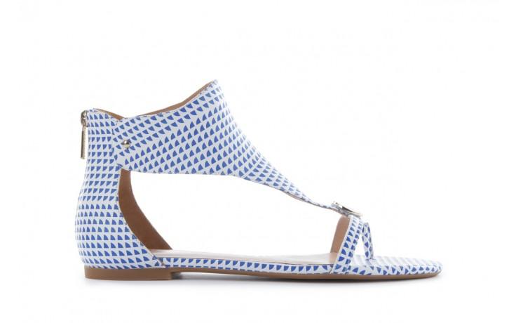 Sandały armani jeans a55e6 39 white, biały, skóra naturalna - armani jeans - nasze marki