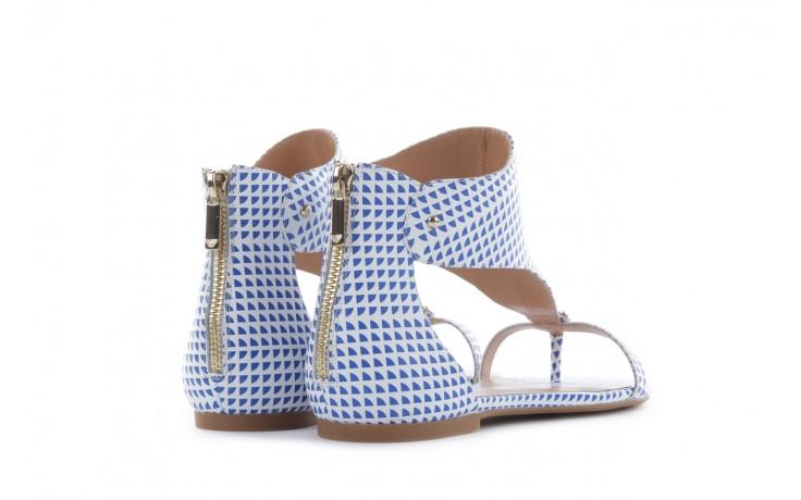 Sandały armani jeans a55e6 39 white, biały, skóra naturalna - armani jeans - nasze marki 3