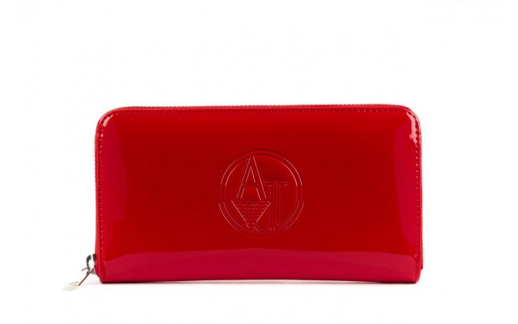 Armani jeans portfel 05v32 rj red - nasze marki