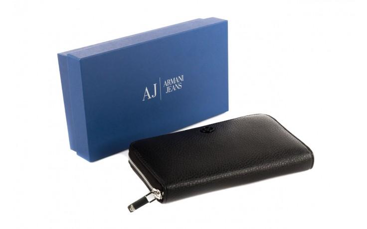 Armani jeans portfel b5v32 v7 black 3