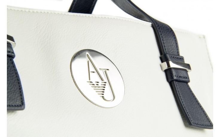 Armani jeans torebka a523b v1 white - nasze marki 3