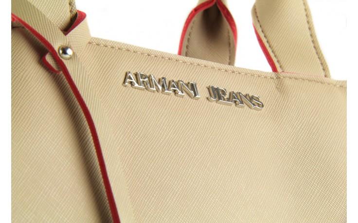 Armani jeans torebka a524z v6 beige - armani jeans - nasze marki 5