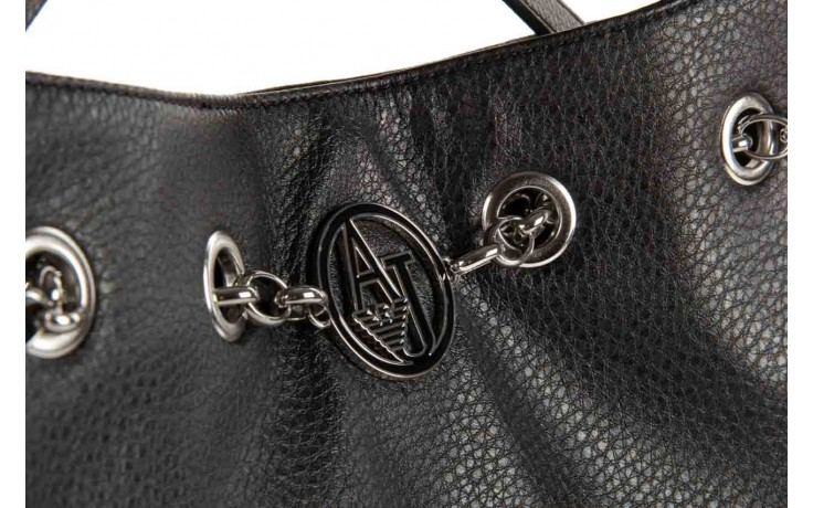 Armani jeans torebka b5239 v7 black - armani jeans - nasze marki 4