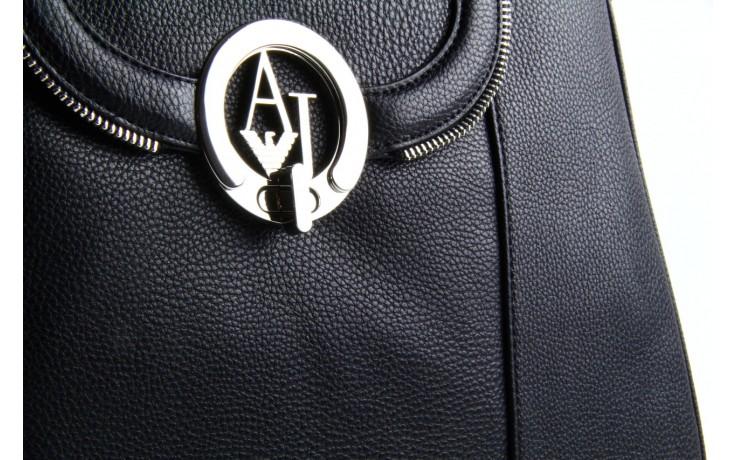 Armani jeans torebka z5227 u4 black - armani jeans - nasze marki 5