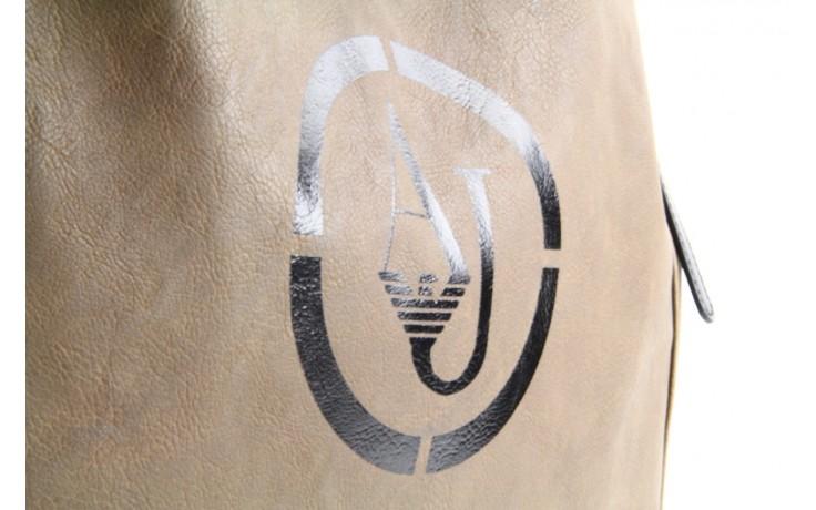 Armani jeans torebka z5245 v1 beige - armani jeans - nasze marki 5