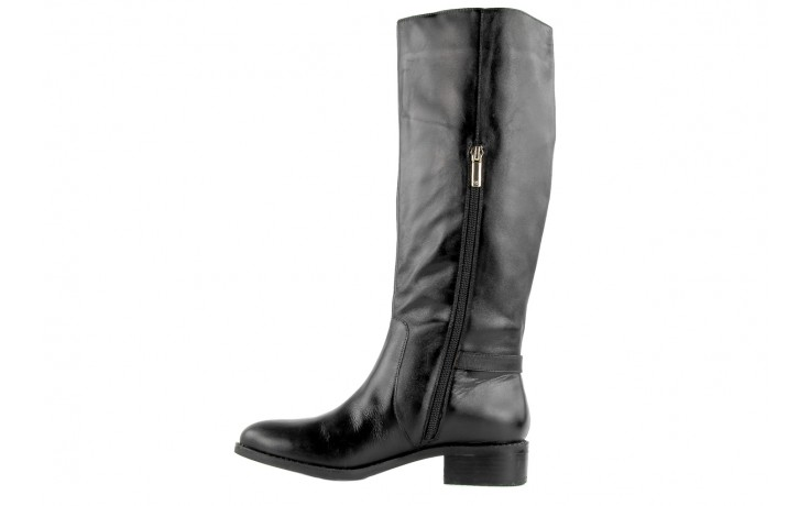 Kozaki armani jeans z5546 41 nero, czarny, skóra naturalna - kozaki - dla niej  - sale 3