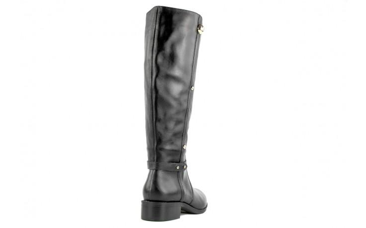 Kozaki armani jeans z5546 41 nero, czarny, skóra naturalna - kozaki - dla niej  - sale