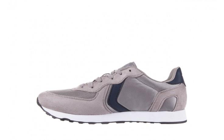 Sneakersy aviazione navale an100 grey, szary, materiał - nasze marki 2